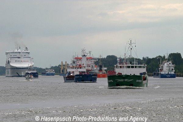 Schiffsverkehr Nok